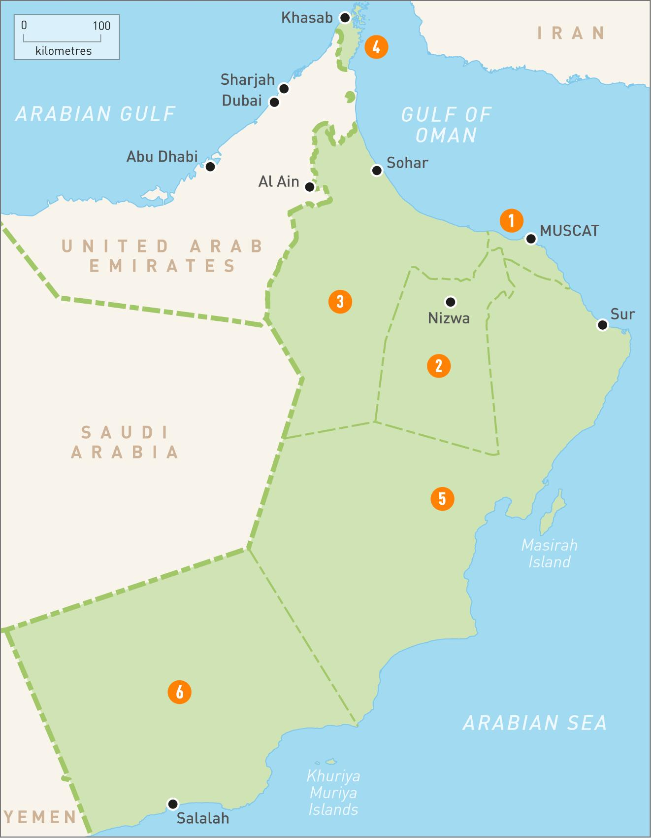 Map Of Oman Oman Map Hd Western Asia Asia